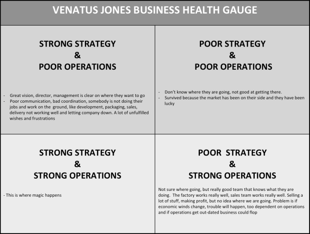 VJ Business Health Gauge